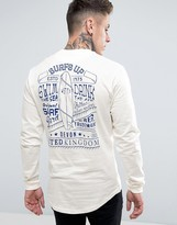 Wetts Back Print Devon Long Sleeve Top