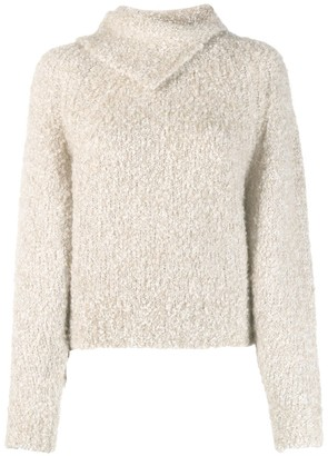 See by Chloe Pointed Collar Jumper