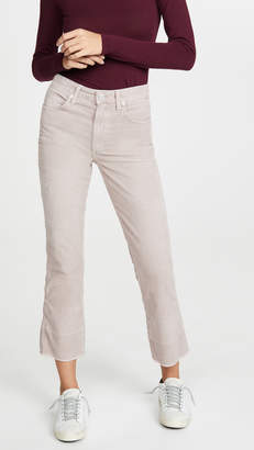 Amo Bella Velveteen High Rise Slight Boot Cut Jeans