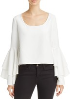 Milly Annie Ruffle Sleeve Top