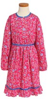 Oscar de la Renta Girl's Lotus Flower Dress