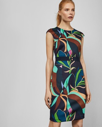 Ted Baker Supernatural Structure Bodycon Dress