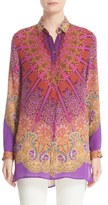 Etro Women's Mandala Print Silk Tunic