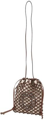 Burberry Fishnet Drawstring Shoulder Bag