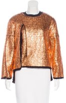 3.1 Phillip Lim Metallic Textured Sweater