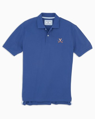 Southern Tide UVA Cavaliers Pique Polo Shirt