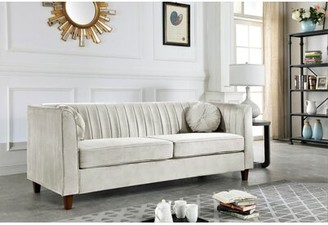 BEIGE House of Hampton Bernal Sofa House of Hampton Upholstery Color