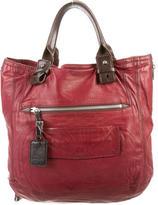 Chloé Bi-Color Leather Tote