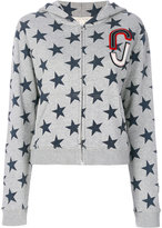 Marc Jacobs star print hoodie - women - Cotton - M
