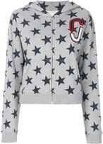 Marc Jacobs - star print hoodie