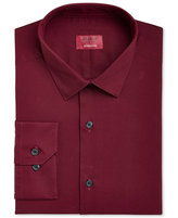 Alfani Men's Slim-Fit Stretch Geranium Red Dress Shirt, Only at Macy's