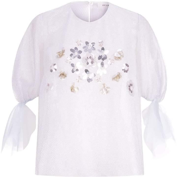 DELPOZO Embellished Blouse