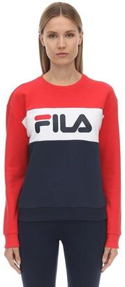 Fila Urban Logo Cotton Blend Sweatshirt