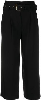 MICHAEL Michael Kors High-Waist Belted Trousers