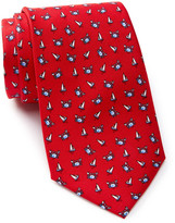 Tailorbyrd Silk Sailboat & Crab Tie