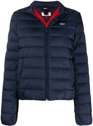 Tommy Jeans Quilted Funnel-Neck Jacket