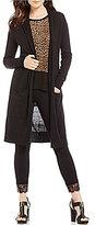 MICHAEL Michael Kors Long Open Front Easy Cardigan
