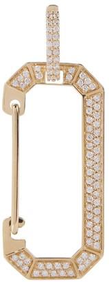 EÉRA Big Chiara 18kt gold earring with diamonds
