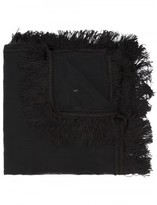 Saint Laurent frayed scarf