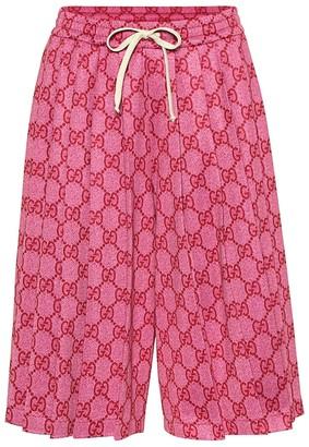 Gucci GG jersey shorts