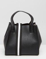 Pull&Bear Mini Tote Bag with Sports Strap