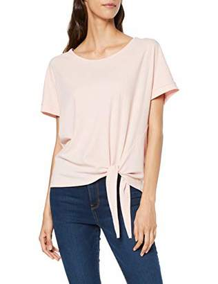 Tom Tailor Casual Women's Detailliertes T-Shirt,Large
