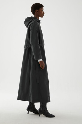 Cos Raincoat With Detachable Hood