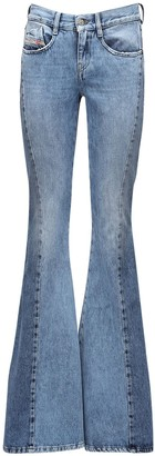 Diesel D-Ferenz Flared Zipped Denim Jeans