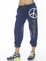 JLO by Jennifer Lopez Peace Love World I am Peace Pants In Deep Sky as seen on