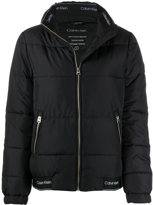 Calvin Klein Zipped Padded Jacket