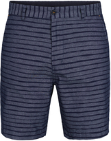 Oxford Henry Striped Shorts Blue X