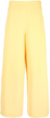 Alice + Olivia Cropped Wide Leg Trousers