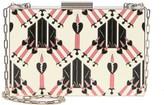 Valentino Patterned Box Clutch