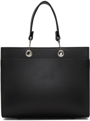 Comme des Garcons Black Recycled Leather Tote
