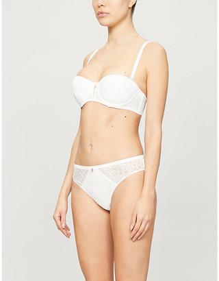 Chantelle Dusk padded strapless bra