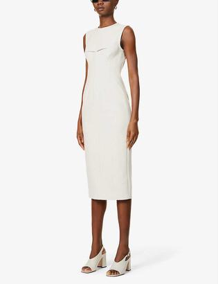 Sportmax Razza stretch-cotton midi dress