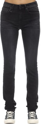 R 13 Alison Straight Leg Denim Jeans