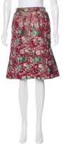 Creatures of the Wind Jacquard Knee-Length Skirt