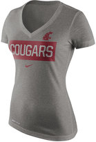 Nike Women's Washington State Cougars Dri Blend Tailgate V-Neck T-Shirt