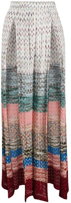 Missoni Mare Textured-Knit Palazzo Trousers