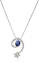 Tagliamonte Incanto Royale Sapphires and Diamond Star 18K Gold Pendant Necklace