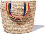 Loeffler Randall Oversized Artisan Straw Tote Bag