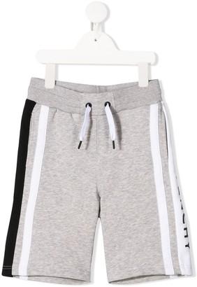 Givenchy Kids Logo Tape Pane Track Shorts