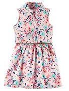 Carter's Girls 4-8 Shirt Dress