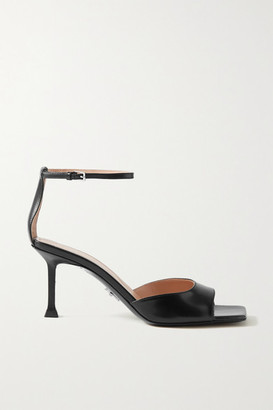 Cesare Paciotti Leather Sandals - Black