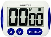 DRETEC big screen timer Blue T-291-BL (japan import)