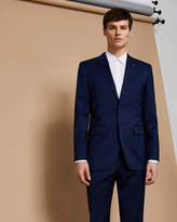 Ted Baker Slim fit plain wool suit jacket