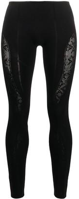 Alyx Contrast Skinny-Fit Leggings