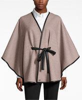 Calvin Klein Kimono-Sleeve Woven Wrap