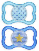 Mam Air Night Orthodontic Ages 6+ Months Pacifier in Blue